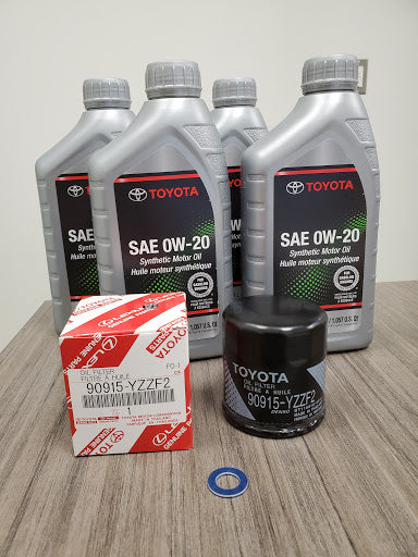 Oil Change Kit - Toyota Customs
