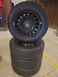 "Winter 17"" Steel Wheel and Tire Package"