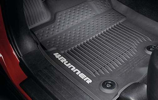 Tub Style Floor Mats - PT908-89160-02 - Toyota Customs