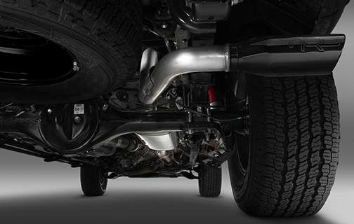 TRD Performance Exhaust Kit - Toyota Customs