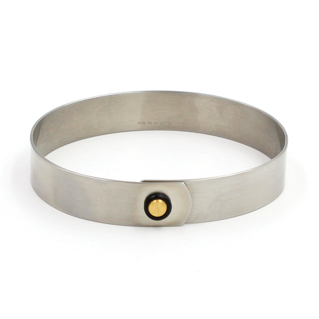 28-2078-4 Stainless Steel & Gold Bracelet