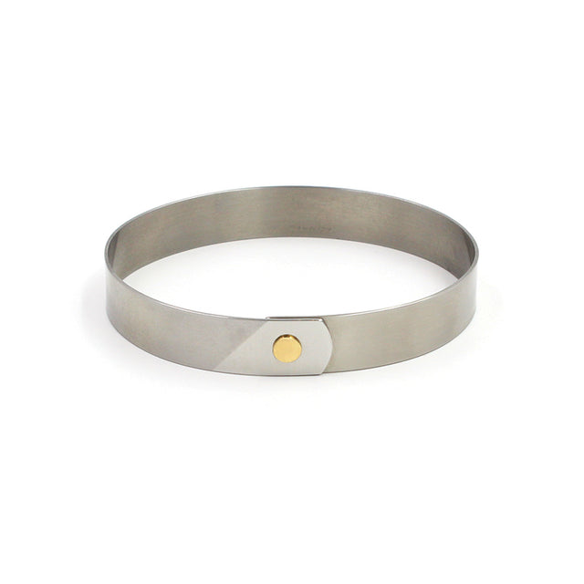28-2208-4 Stainless Steel & Gold Bracelet