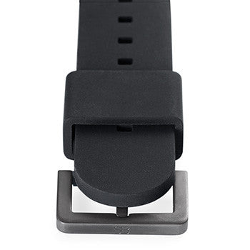 Watch Strap: Black Rubber For SB Metropolis-SB Design Studio
