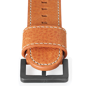 "Watch Strap: Beige ""Camel"" Leather For SB Metropolis-SB Design Studio"