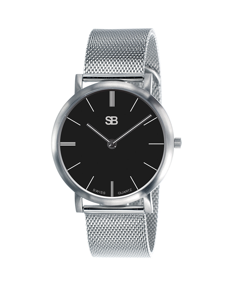 SB13.2 SOB Steel Watch w/Mesh Bracelet