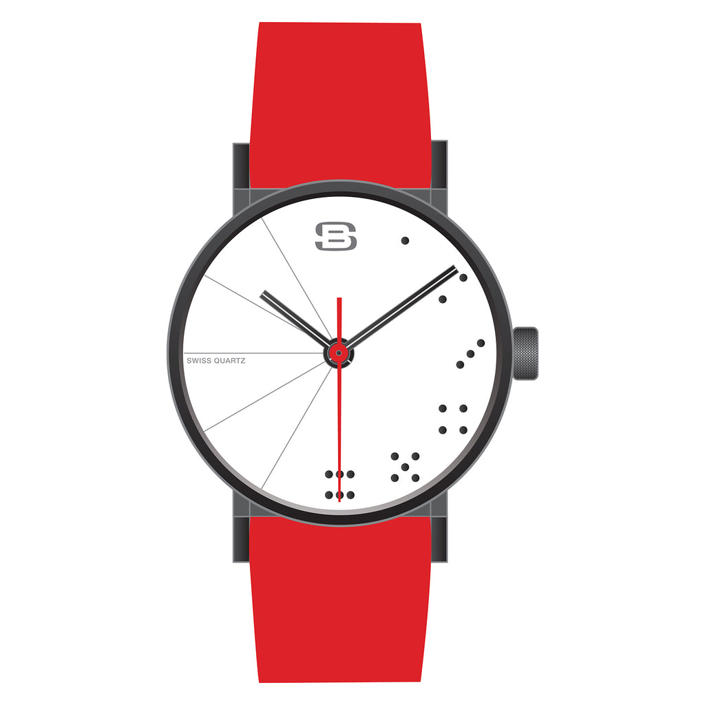 SB21.2-B: Steel Blaze Metropolis Collection in Red : Casino