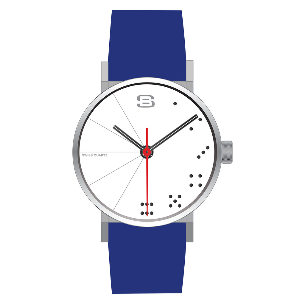 SB21.2-S: Steel Blaze Metropolis Collection in Blue : Casino