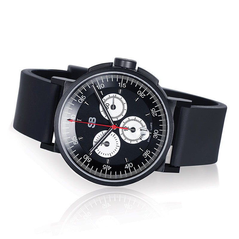 SBCHR1.4 : Steel Blaze Chronograph Watch-SB Design Studio