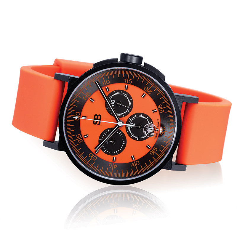 SBCHR1.8/O : Steel Blaze Chronograph Watch-SB Design Studio