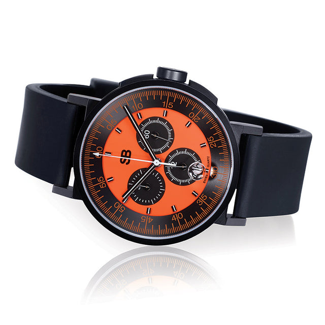 SBCHR1.8 : Steel Blaze Chronograph Watch-SB Design Studio