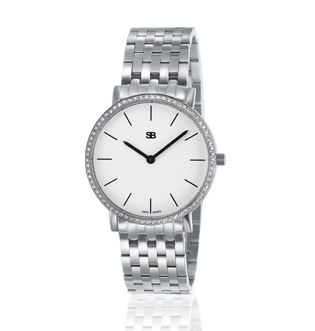 SOB1101/DIA Steel Ladies Watch-SB Design Studio