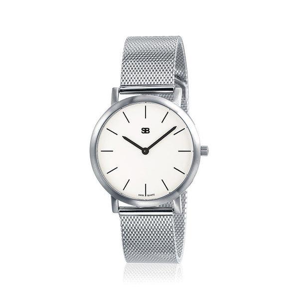 SOB1101 Ladies Watch w/Mesh Bracelet-SB Design Studio