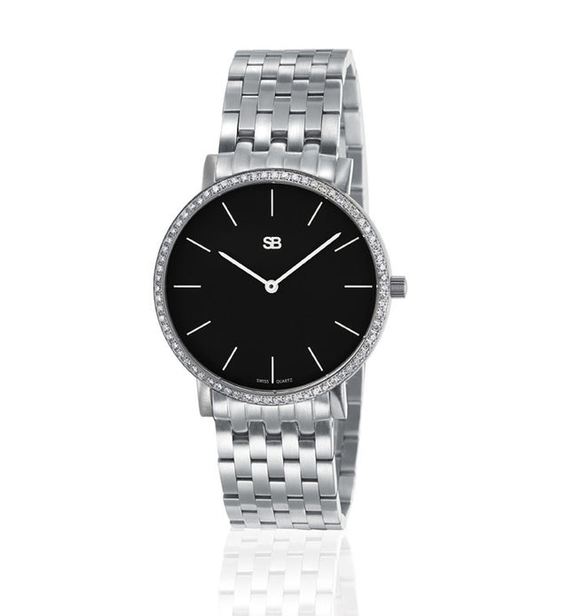 SOB1102/DIA Steel Ladies Watch-SB Design Studio