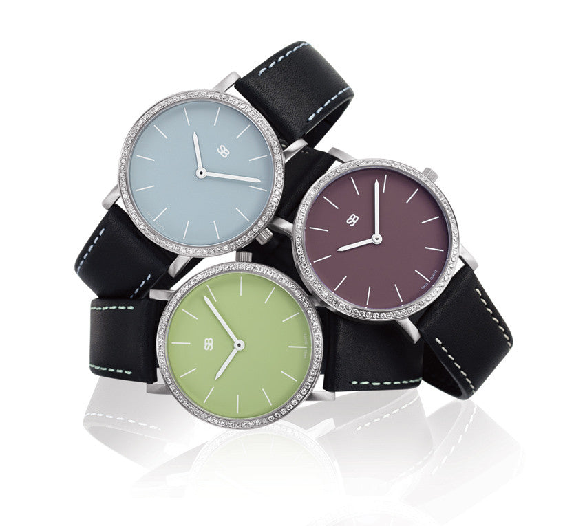 SOB1107/DIA Steel Ladies Watch-SB Design Studio