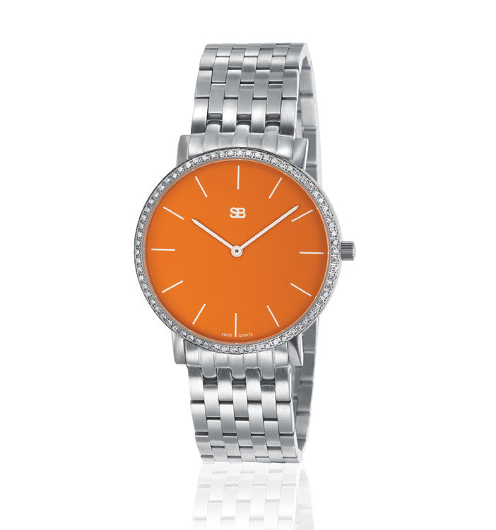SOB1108/DIA Steel Ladies Watch-SB Design Studio