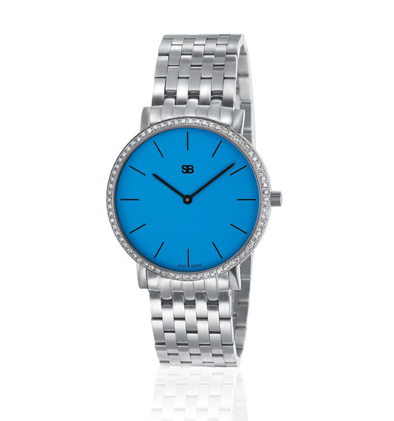 SOB1109/DIA Steel Ladies Watch-SB Design Studio