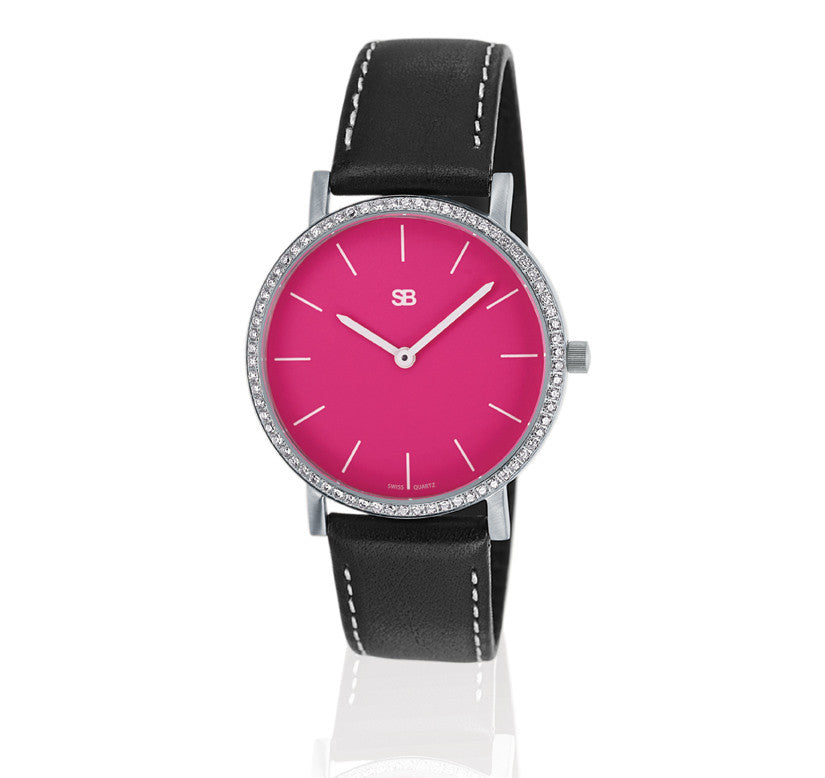 SOB1111/DIA Steel Ladies Watch-SB Design Studio