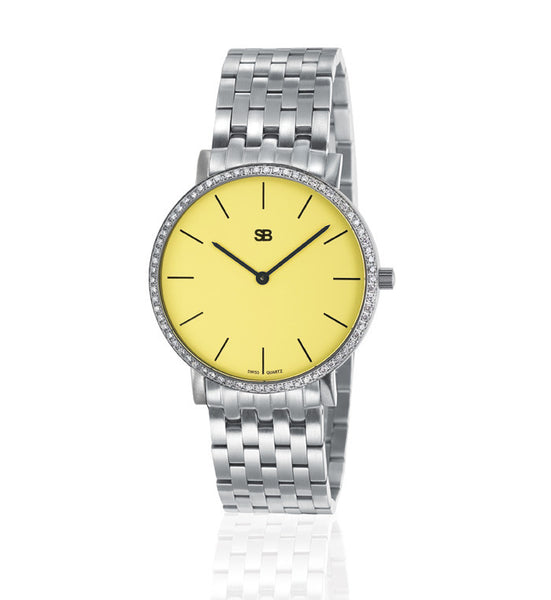 SOB1113/DIA Steel Ladies Watch-SB Design Studio
