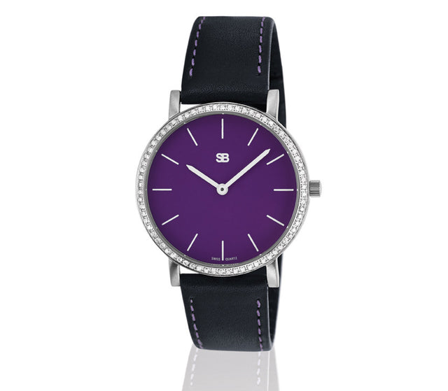 SOB1114/DIA Steel Ladies Watch-SB Design Studio