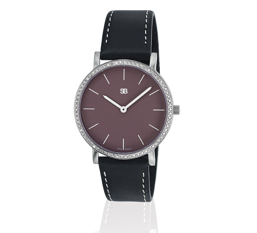 SOB1115/DIA Steel Ladies Watch-SB Design Studio