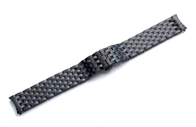 SOB Black Mens 40MM Steel Watch Bracelet-SB Design Studio