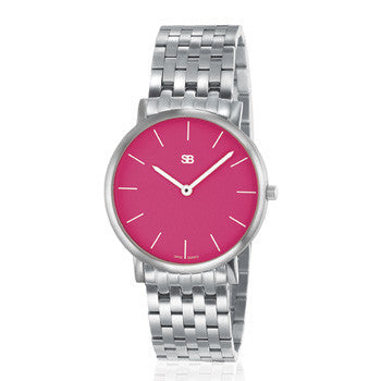 SOB1111/BRLINK Steel Ladies Watch-SB Design Studio