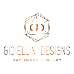 Geometric jewelry from Gioiellini Designs