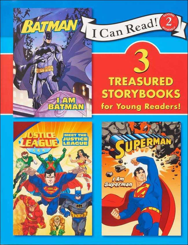 Superhero Storybooks for Young Readers: 3 Books in 1