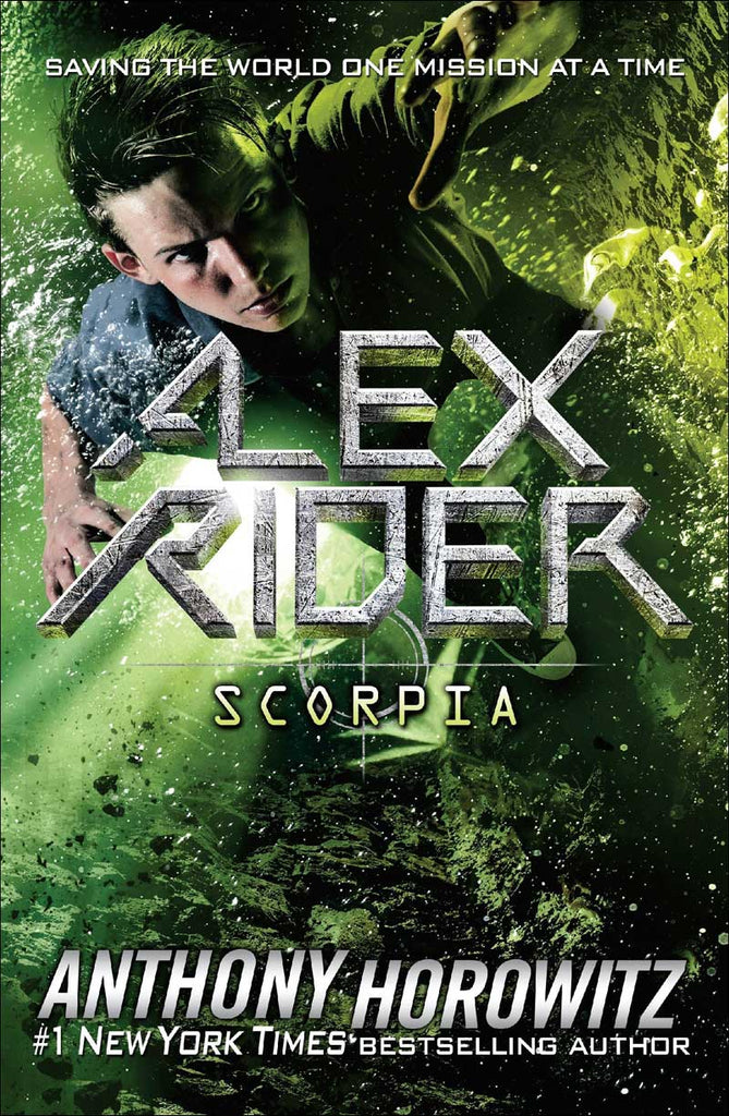 Scorpia (Alex Rider series, Book 5 of 12) by Anthony Horowitz