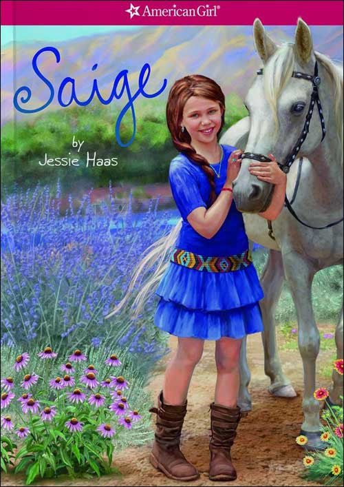 American Girl: Saige by Jessie Haas