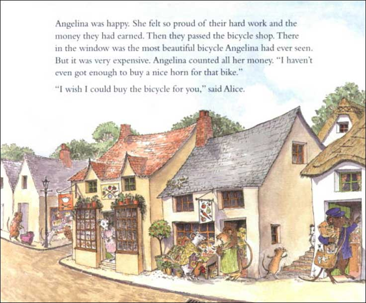 Angelina's Birthday by Katharine Holabird; illustrated by Helen Craig