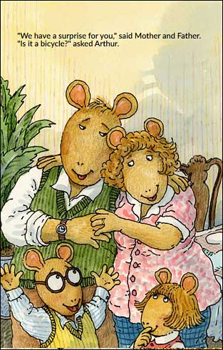 Arthur's Baby by Marc Brown