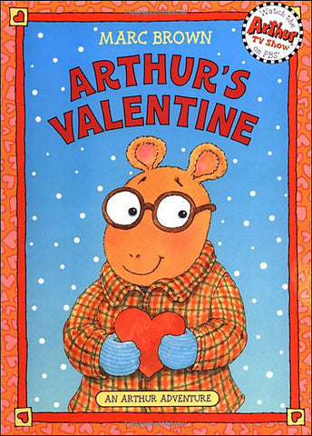 inside Arthur's Valentine by Marc Brown