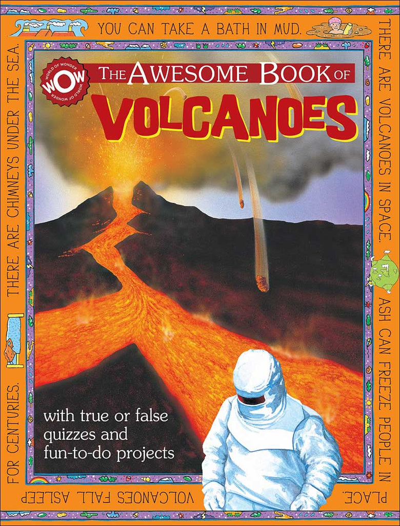 The Awesome Book of Volcanoes by Flowerpot Press