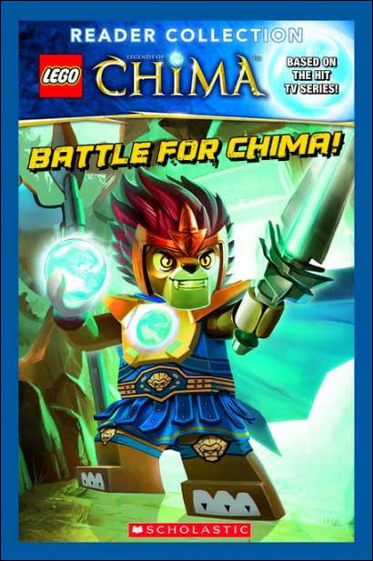 Lego Legends of Chima Reader Collection: 4 Books in 1