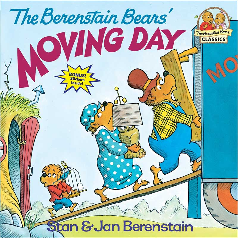 The Berenstain Bears Moving Day by Jan and Mike Berenstain