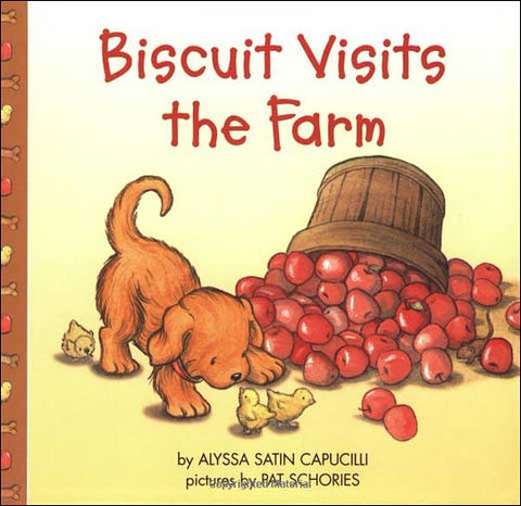Biscuit Visits the Farm by Alyssa Satin Capucilli