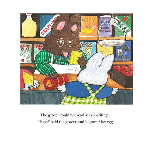 inside Bunny Cakes by Rosemary Wells