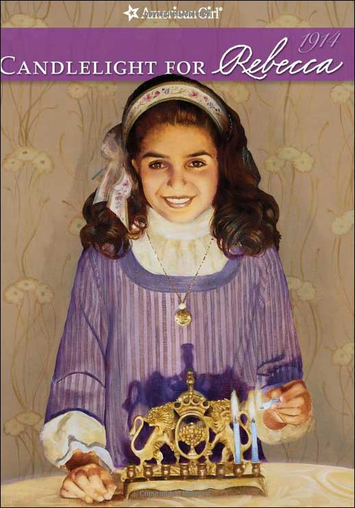 American Girls: Candlelight for Rebecca by Jacqueline Greene; illustrated by Robert Hunt