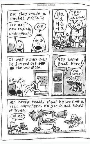 Captain Underpants and the Big, Bad Battle of the Bionic Booger Boy, Part 2  (chapter book)