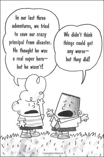 Captain Underpants and the Perilous Plot of Professor Poopypants (chapter book)