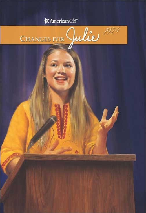 American Girl: Changes for Julie  by Megan McDonald; illustrations by Robert Hunt
