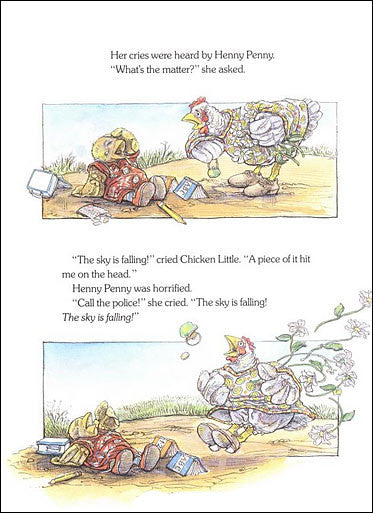 inside Chicken Little by Steven Kellogg