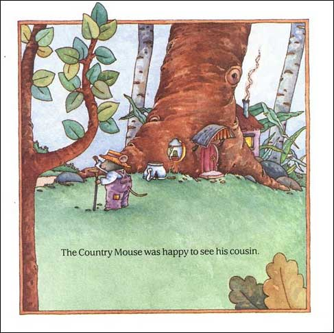 City Mouse - Country Mouse and Two More Mouse Tales from Aesop