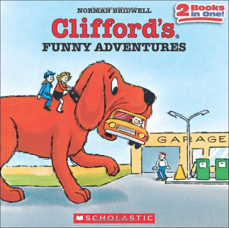 Clifford's Funny Adventures by Norman Bridwell