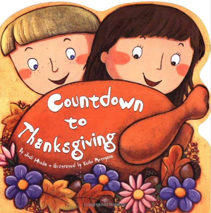 Countdown to Thanksgiving by Jodi Huelin