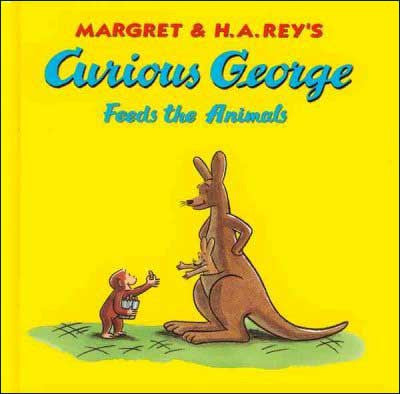 Curious George Feeds the Animals  by Margaret and H. A. Rey