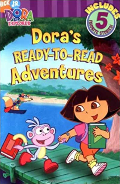 Dora's Ready-to-Read Adventures: 5 Favorite Stories