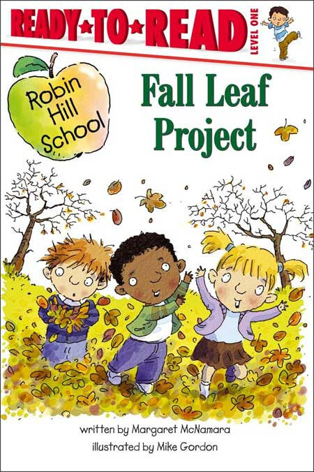 Robin Hill School Fall Leaf Project by Margaret McNamara