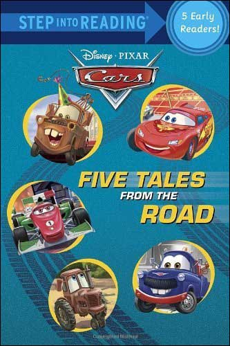 "Disney Pixar Cars ""Five Tales from the Road"" Collection: 5 Books in 1"